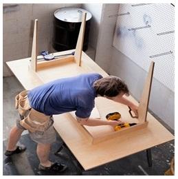 Сборка столов по низким ценам во Владимире от специалистов