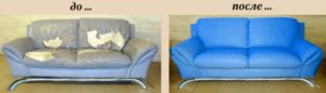 Перетяжка диванов на дому во Владимире недорого