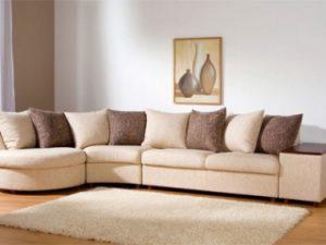 Перетяжка углового дивана на дому во Владимире
